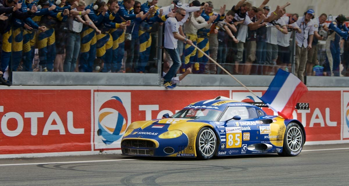 Finishes 5th at le Mans